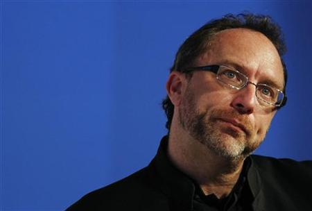 Wikipedia founder Jimmy Wales, attends the eG8 forum in Paris, May 24, 2011. The eG8 forum will gather ''leaders of the Internet'' to consider and discuss the future of the Internet and society. REUTERS/Stephane Mahe