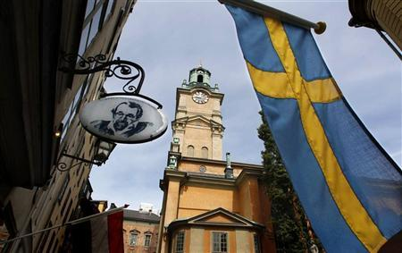 The Stockholm Cathedral is seen in Gamla Stan or the Old Town district of Stockholm June 9, 2010.  REUTERS/Bob Strong