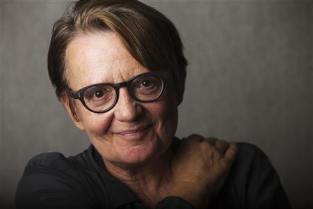 Director Agnieszka Holland of the film ''In Darkness'' poses for a portrait during the 36th Toronto International Film Festival (TIFF) in Toronto, September 12, 2011. REUTERS/Mark Blinch