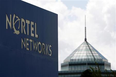 A sign is pictured outside Nortel's Carling Campus in Ottawa August 10, 2009. REUTERS/Blair Gable