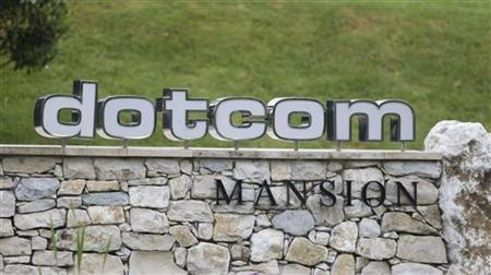 The entrance of the Dotcom Mansion, home of accused Kim Dotcom, who founded the Megaupload.com site and ran it from the $30 million mansion, is seen in Coatesville January 21, 2012. The U.S. government shut down the Megaupload.com content sharing website, charging its founders and several employees with massive copyright infringement, the latest skirmish in a high-profile battle against piracy of movies and music. New Zealand police on Friday raided a mansion in Auckland and arrested Kim Dotcom, also known as Kim Schmitz, 37, a German national with New Zealand residency.  REUTERS/Nigel Marple