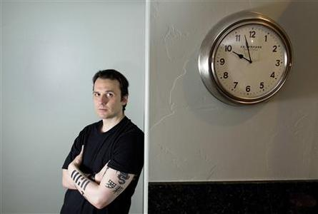 Damien Echols, producer and subject of the documentary film ''West of Memphis,'' poses for a portrait during the Sundance Film Festival in Park City, Utah, January 21, 2012. REUTERS/Lucas Jackson