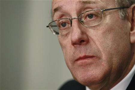 Special Master for TARP Executive Compensation, Kenneth Feinberg is pictured at the 2010 Reuters Global Financial Regulation Summit in Washington, April 29, 2010.    REUTERS/Jason Reed