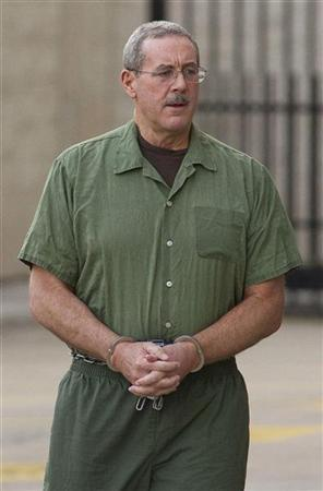 Allen Stanford arrives at the Federal Court in Houston January 23, 2012.   REUTERS/Richard Carson
