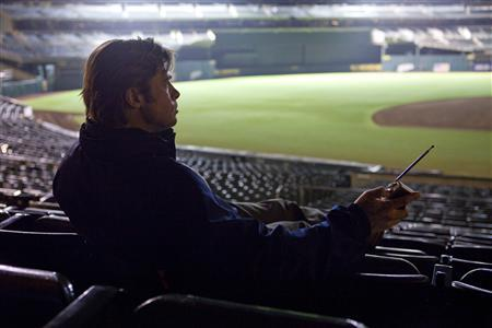 Brad Pitt in a scene from ''Moneyball.''REUTERS/Columbia Pictures