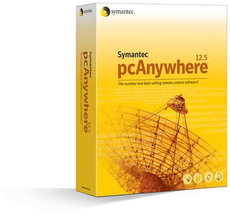 Symantec's pcAnywhere software in an image courtesy of the company. REUTERS/