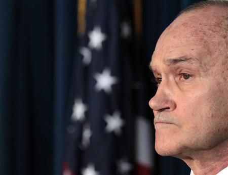 New York City Police Commissioner Ray Kelly attends a news conference at the U.S. Attorney's office in New York October 25, 2011.  REUTERS/Brendan McDermid