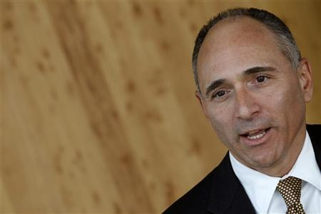 Novartis CEO Joe Jimenez attends an interview with Reuters at the company's headquarters in Basel September 1, 2011.  REUTERS/Christian Hartmann
