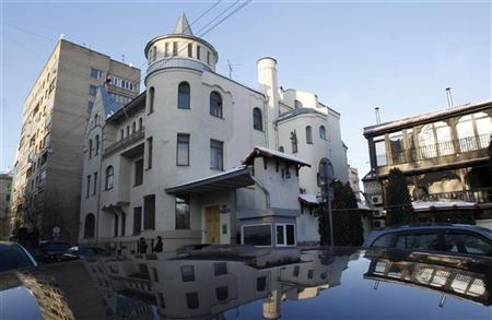 A general view of the Syrian Embassy in Moscow January 30, 2012.  REUTERS/Sergei Karpukhin