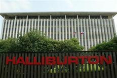 Штаб-квартира Halliburton в пригороде Хьюстона, 9 мая 2003 года. Суд в США освободил нефтесервисную компанию Halliburton Co от материальной ответственности за разлив нефти в Мексиканском заливе в 2010 году, сведя на нет стремление нефтяной компании BP разделить с партнерами расходы на ликвидацию последствий катастрофы, оцениваемые в $42 миллиарда. REUTERS/Richard Carson  RJC/SV