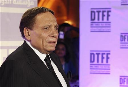 Actor Adel Imam attends the Awards Show and Closing Night Red Carpet and Screening of 'The First Grader' during the 2010 Doha Tribeca Film Festival in Doha October 30, 2010. REUTERS/Mohammed Dabbous