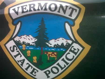 The Vermont State Police emblem is pictured in this undated handout photo received by Reuters on February 2, 2012 from the Vermont State Police.   REUTERS/Vermont State Police/Handout