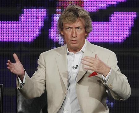 Nigel Lythgoe, executive producer and judge of ''So You Think You Can Dance'', discusses the show at the Fox Summer Television Critics Association press tour in Pasadena, California  August 6, 2009. REUTERS/Fred Prouser