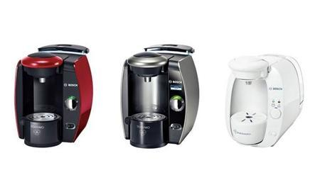 Tassimo Single-Cup Brewers (L-R) TAS100x/TAS451x/TAS46x, TAS651, and TAS200x in images released by the Consumer Product Safety Commission on February 9, 2012. REUTES/CPSC