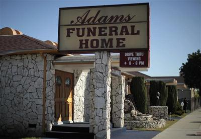 Drive-thru funeral home