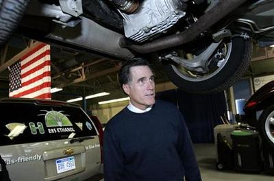 In Michigan, will Romney regret opposing auto bailout?