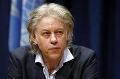 Singer and political activist Bob Geldof attends a news conference on the situation in the Horn of Africa, at the U.N. headquarters in New York September 24, 2011. REUTERS/Jessica Rinaldi