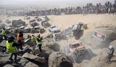 King of the Hammers run