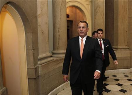 House Speaker John Boehner on Capitol Hill, December 23, 2011. REUTERS/Yuri Gripas