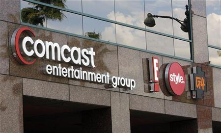 The offices and studios of Comcast Entertainment Group which operates E! Entertainment Television, the Style Network and G4 network is pictured in Los Angeles November 12, 2009. REUTERS/Fred Prouser