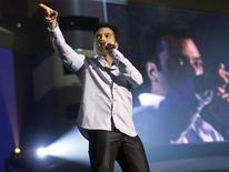 Jon Secada performs in a file photo. 