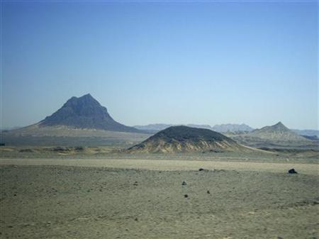 The hills near the proposed site of the Reko Diq copper mine in Pakistan's province of Baluchistan are seen in this undated 2010 photo. REUTERS/Faisal Aziz