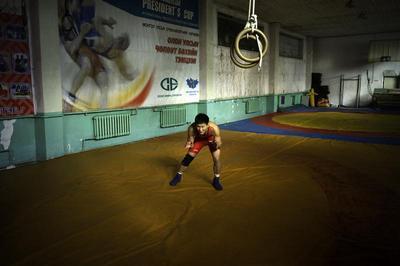 Mongolia's Olympic gym