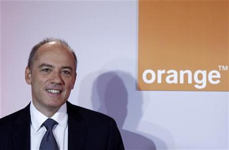 France Telecom Orange Chief Executive Stephane Richard poses before the company's 2011 annual results presentation in Paris February 22, 2012. REUTERS/Jacky Naegelen