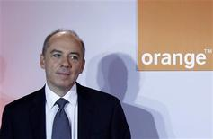 <p>Dans un entretien à Reuters, le PDG de France Télécom dit anticiper une année 2012 peu animée sur le front des acquisitions et ne pas prévoir de cessions de grande ampleur après la vente récente d'Orange Autriche et d'Orange Suisse. /Photo prise le 22 février 2012/REUTERS/Jacky Naegelen</p>