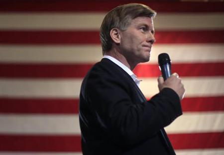 Virginia Governor Bob McDonnell in North Charleston, South Carolina, January 20, 2012. REUTERS/Jim Young