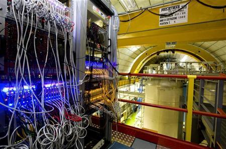A general view of the detector ''OPERA'' at the LNGS (Gran Sasso National Laboratory) near L'Aquila, central Italy, in this undated handout photograph. REUTERS/INFN/Handout