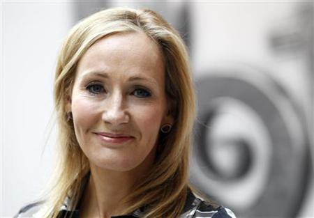 JK Rowling during the launch of online website Pottermore in London June 23, 2011. REUTERS/Suzanne Plunkett