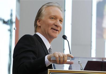 Comedian Bill Maher speaks during ceremonies unveiling his star on the Hollywood Walk of Fame in Hollywood September 14, 2010.  REUTERS/Fred Prouser
