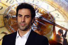 """O ator Sacha Baron Cohen na premier de """"Hugo"""", em New York, em november. 21/11/2011 REUTERS/Eric Thayer"""