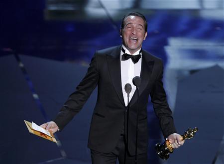 Oscar 2012 best actor jean dujardin video for Dujardin richard