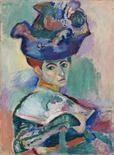 "Artist Henri Matisse's painting ""Woman with a Hat"" is pictured in this handout photo made available to Reuters, February 28, 2012. REUTERS/The Metropolitan Museum of Art/Handout"
