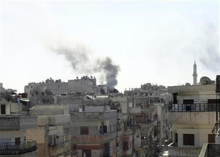 REUTERS/Stringer   (SYRIA - Tags: CIVIL UNREST POLITICS CONFLICT)