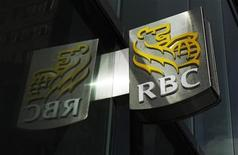 A Royal Bank of Canada (RBC) sign is seen in downtown Toronto, March 3, 2011. REUTERS/Mark Blinch