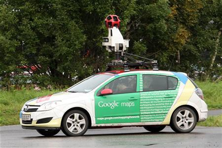 A Google Street View car is driven in Sundsvall, northern Sweden September 13, 2011.  REUTERS/Fabrizio Bensch