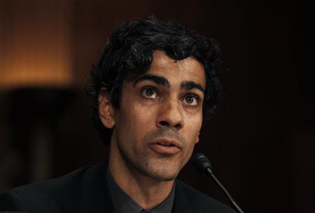 Jeremy Stoppelman, co-founder and CEO of yelp Inc., San Francisco, California, testifies before a Senate Judiciary Subcommittee hearing called ''The Power of Google: Serving Consumers or Threatening Competition?'' on Capitol Hill, September 21, 2011. REUTERS/Larry Downing (