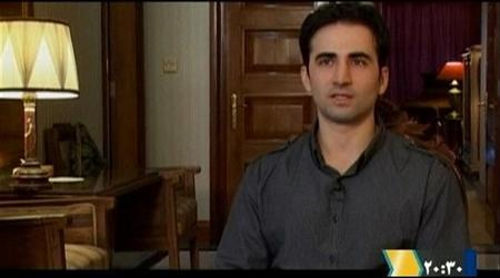 Iranian-American Amir Mirza Hekmati, who has been sentenced to death by Iran's Revolutionary Court on the charge of spying for the CIA, speaks during a recorded interview in an undisclosed location, in this undated still image taken from video made available to Reuters TV on January 9, 2012.                REUTERS/via Reuters TV