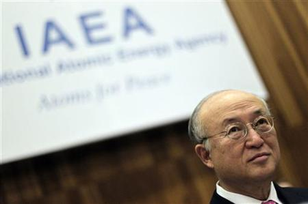 International Atomic Energy Agency (IAEA) Yukiya Amano attends a board of governors meeting at the United Nations headquarters in Vienna March 5, 2012. REUTERS/Herwig Prammer