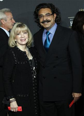 Jacksonville Jaguars owner Shahid Khan and his wife Ann arrive for the Inaugural National Football League Honors at Super Bowl XLVI in Indianapolis, Indiana, February 4, 2012.  REUTERS/Mike Segar