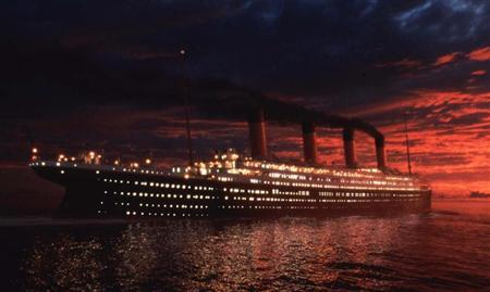 File photo of a scene from the epic film ''Titanic'' directed by James Cameron, obtained on February 7, 1998. REUTERS/Handout Old