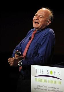 Dr. Marc Faber, publisher of investment newsletter ''The Gloom Boom & Doom'' speaks at the 16th annual Sohn Investment Conference in New York May 25, 2011. REUTERS/Jessica Rinaldi