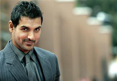 Actor John Abraham poses on the red carpet at the Rome International Film Festival October 24, 2007. REUTERS/Dario Pignatelli/Files