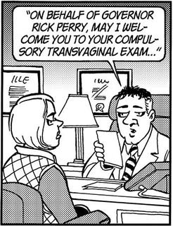 A single panel from an abortion-related ''Doonesbury'' comic strip, by artist Garry Trudeau, set for publication next week is pictured in this artwork released to Reuters March 9, 2012. REUTERS/Courtesy Universal Uclick/Handout
