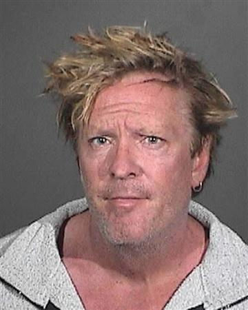 Actor Michael Madsen is pictured in this Los Angeles County Sheriff's Department booking photograph taken March 9, 2012. REUTERS/Los Angeles County Sheriff's Department/Handout