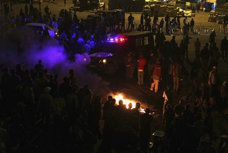 A view of the scene of an explosion near a country bus station in Kenya's capital Nairobi March 10, 2012. REUTERS/Noor Khamis