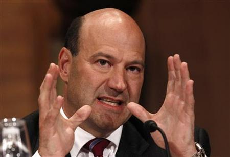 Goldman Sachs Chief Operating Officer Gary Cohn testifies before the Financial Crisis Inquiry Commission (FCIC) on Capitol Hill in Washington, June 30, 2010. REUTERS/Jim Young/Files